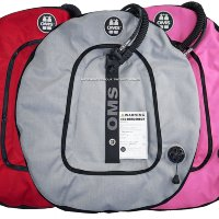 Крыло OMS Performance Double Wing 45 lb. (~20 kg) GREY, RED, PINK / Black