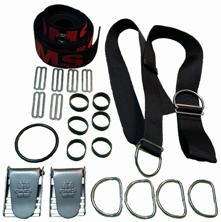 Подвесная система DIR Harness без спинки OMS Webbing for Harness